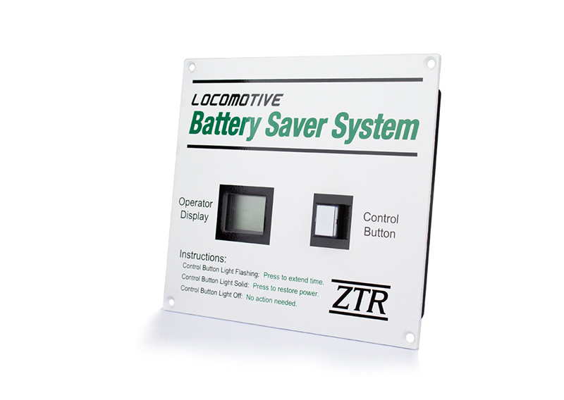 Locomotive Battery Saver System