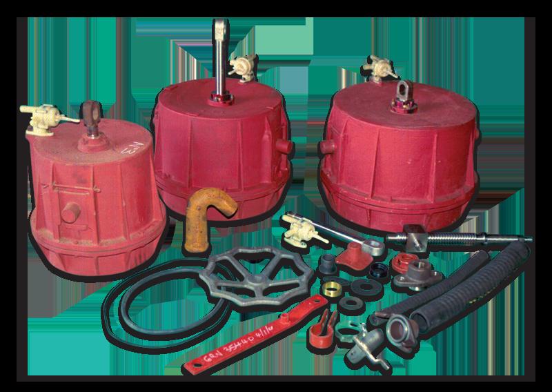 Vacuum Handbrake Components