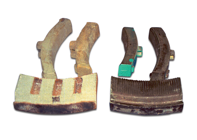 Wheel Turning Brake Shoe